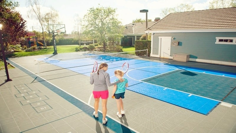 The popularity of Home Playgrounds and Courts